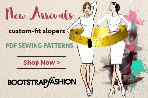 Bootstrap Fashion Custom-Fit Slopers