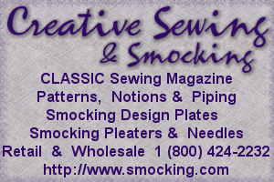 Creative Sewing and Smocking