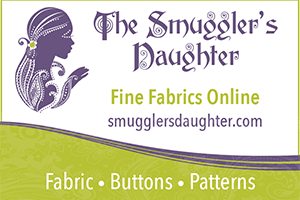 The Smuggler's Daughter Fabric Buttons Patterns